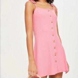 Top shop pink mini dress - size 6